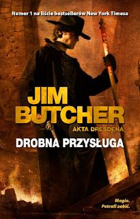 Drobna przysługa - Jim Butcher