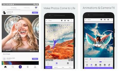 Aplikasi Terbaik Membuat Gambar Animasi via Android