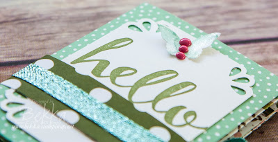 Hello - a card / mini album.  A remake of a free tutorial available here