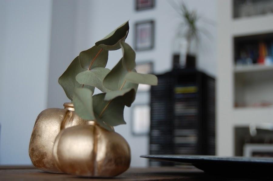 calabaza florero DIY halloween