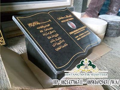 Nisan Buku Granit Islam