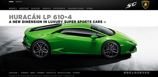 図写真3.Automobili Lamborghini S.p.A.(スクリーンショット)