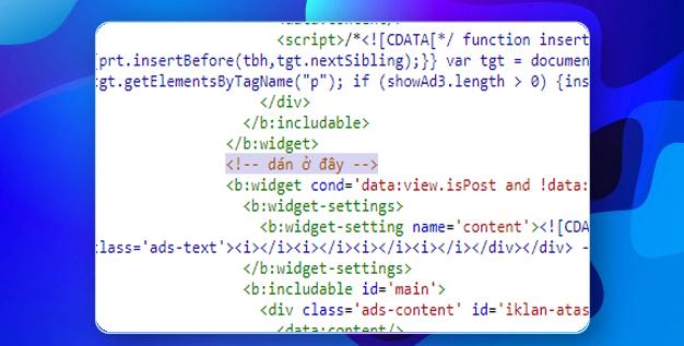 HD Tạo Widget mới