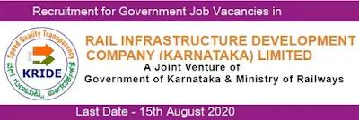 Job Recruitment in KRIDE 2020