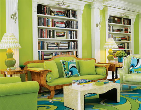 Love fresh design loving lime green and carrie - Green living room ideas decorating ...