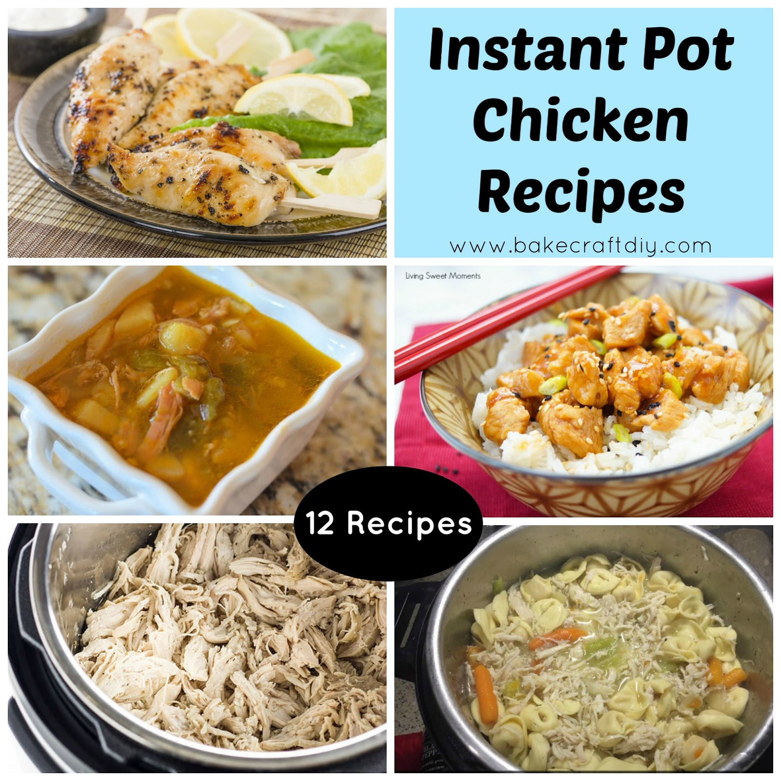 Bake craft diy instant pot chicken recipes for Chicken recipes for the instant pot