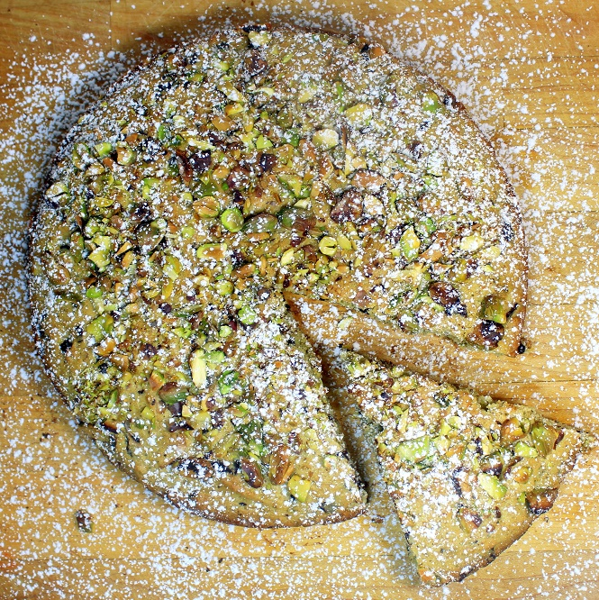 Pistachio And Chocolate Er Cake Coffee 52 Cakes Pies At Home