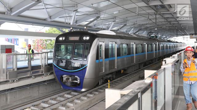 Jadwal MRT Jakarta dan LRT Jakarta Senin 8 Juni saat Fase Transisi New Normal