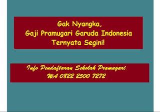 Gak Nyangka, Gaji Pramugari Garuda Indonesia Ternyata Segini!