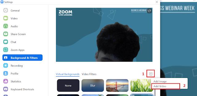 Trik Virtual Background Zoom Meeting Agar Terlihat Seperti On Cam Terus padahal Zoom Ditinggal