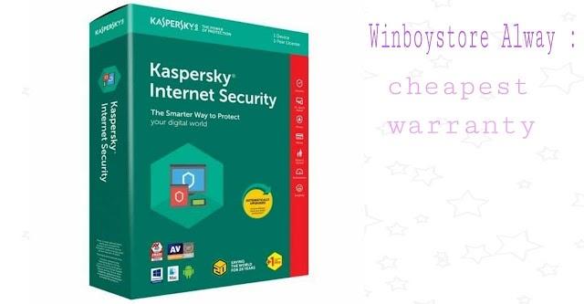Kaspersky Intenret Security Global Key 1 PC 1 Year