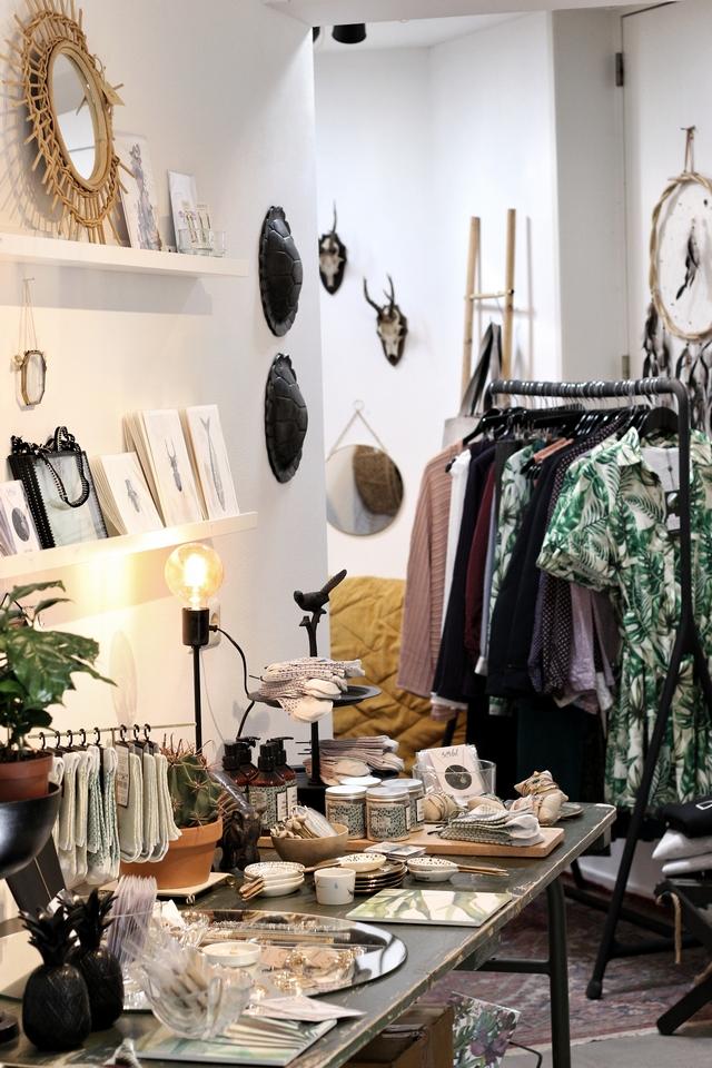Hotspot concept store Lost in Wanderland Arnhem kleding interieur mode accessoires cadeaus blog modekwartier