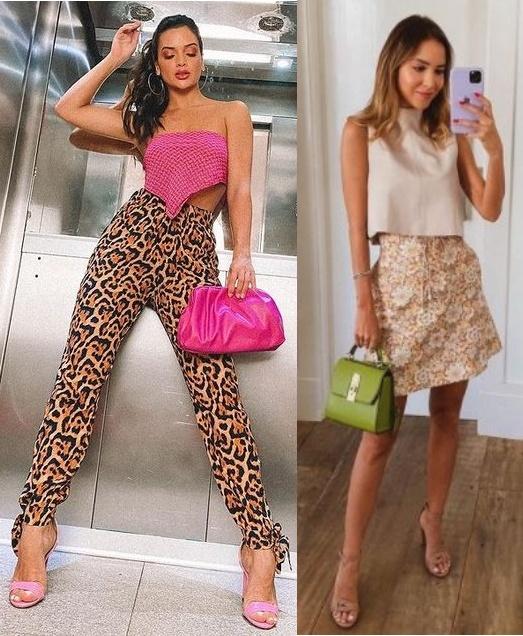 6 combinações de looks para usar em 2021, cor + estampa Tamille Oliveira, Luisa Accorsi