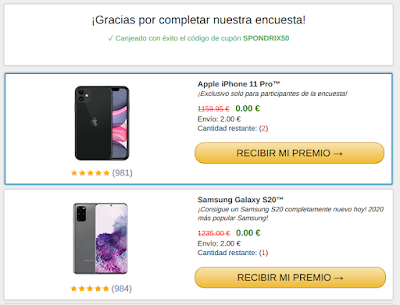 Encuesta Falsa Amazon