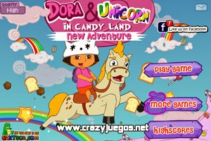 Jugar Dora And Unicorn