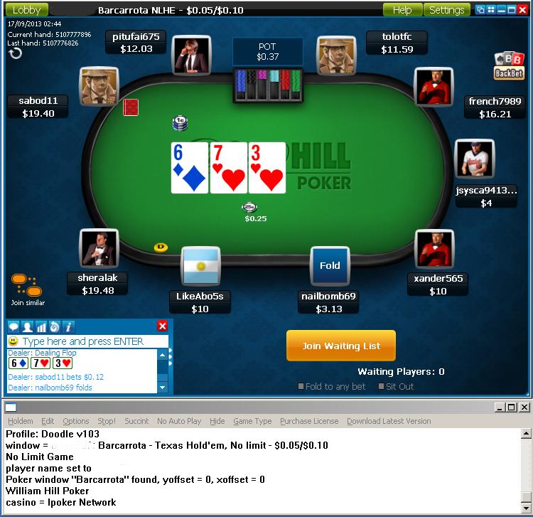 бот онлайн покера