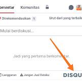 Cara Menautkan URL Blog di Akun Disqus Agar Mudah Dikunjungi