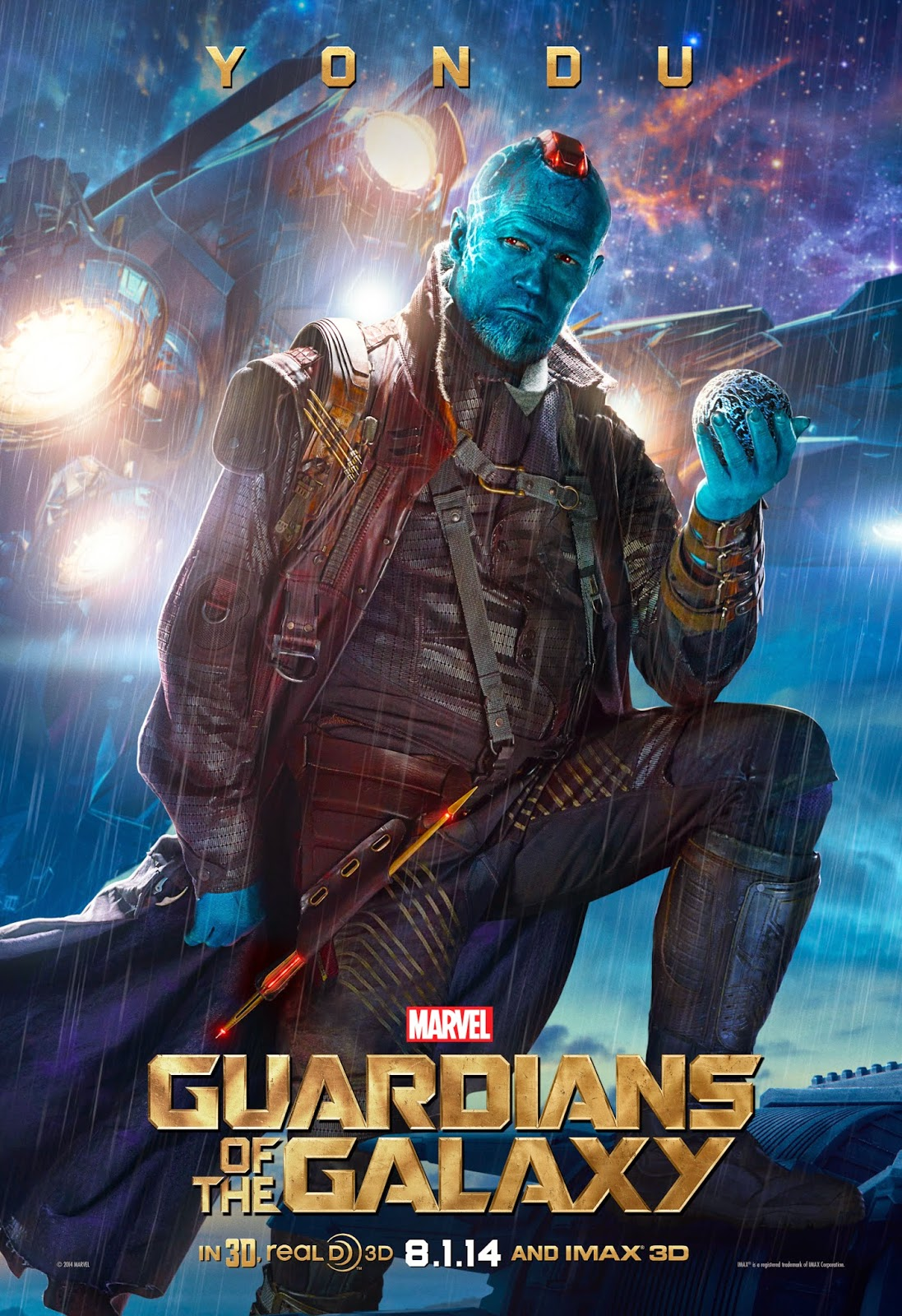 Sasaki Time: Marvel's Guardians of The Galaxy Character Poster: Yondu!
