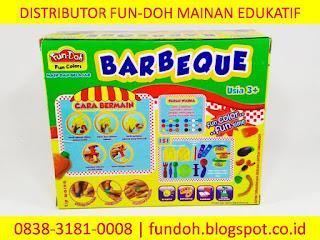 Fun-Doh Barbeque, fun doh indonesia, fun doh surabaya, distributor fun doh surabaya, grosir fun doh surabaya, jual fun doh lengkap, mainan anak edukatif, mainan lilin fun doh, mainan anak perempuan