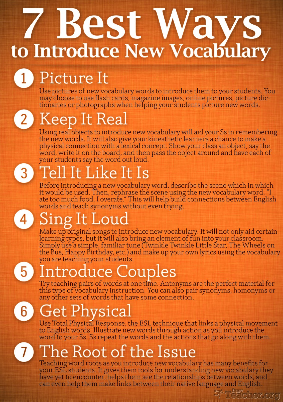 Remedial English 7 Best Ways To Introduce New Vocabulary