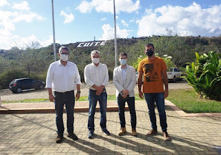 CES recebe visita de prefeito de Cuité e equipe