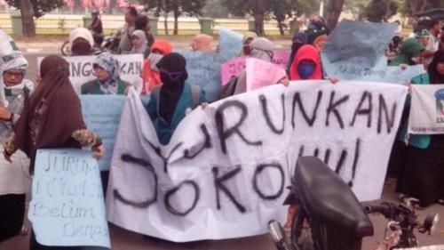Blok Politik Pelajar Serukan Pecat Jokowi dan Golput di Pilpres 2024
