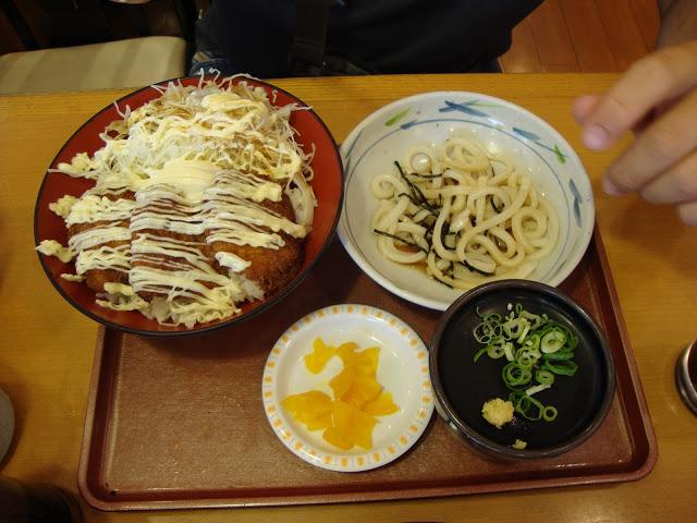 udon con tonkatsu