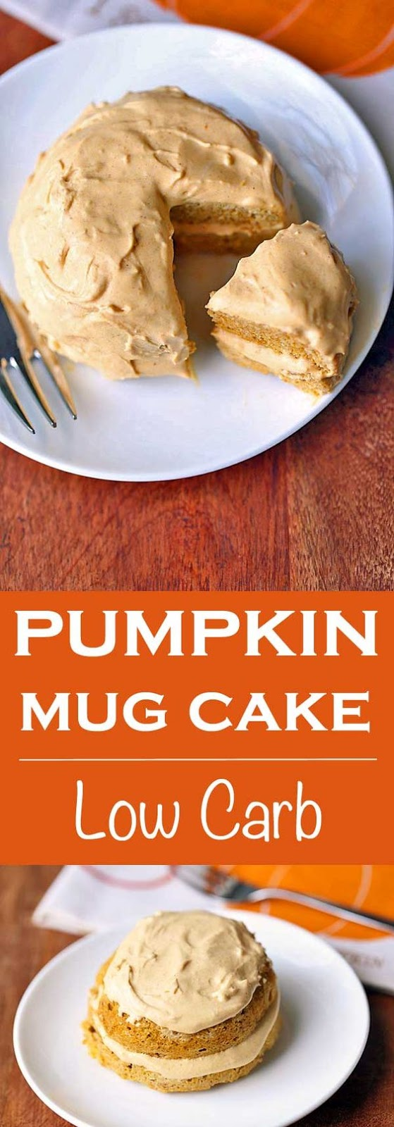 Pumpkin Mug Cake Low Carb
