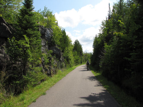 railroad rock cut