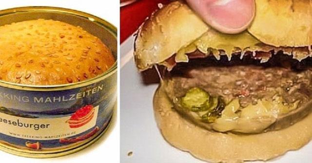 Burger Keju Kalengan