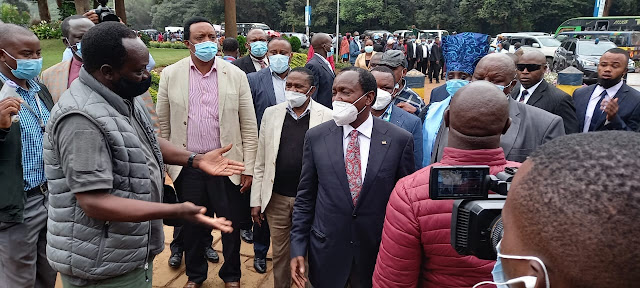 Wiper Party Leader Kalonzo Musyoka  photo at DCI