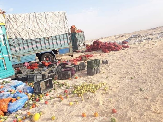 El cierre de la brecha ilegal de El Guerguerat provocará pérdidas millonarias a Marruecos.