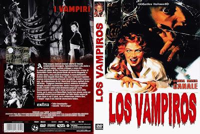 Caratula dvd: Los vampiros 1957