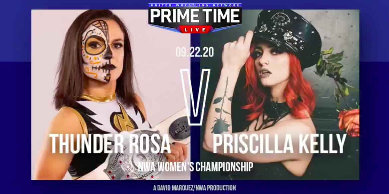 Cobertura: UWN Prime Time Live (22/09/2020) – Invicta!