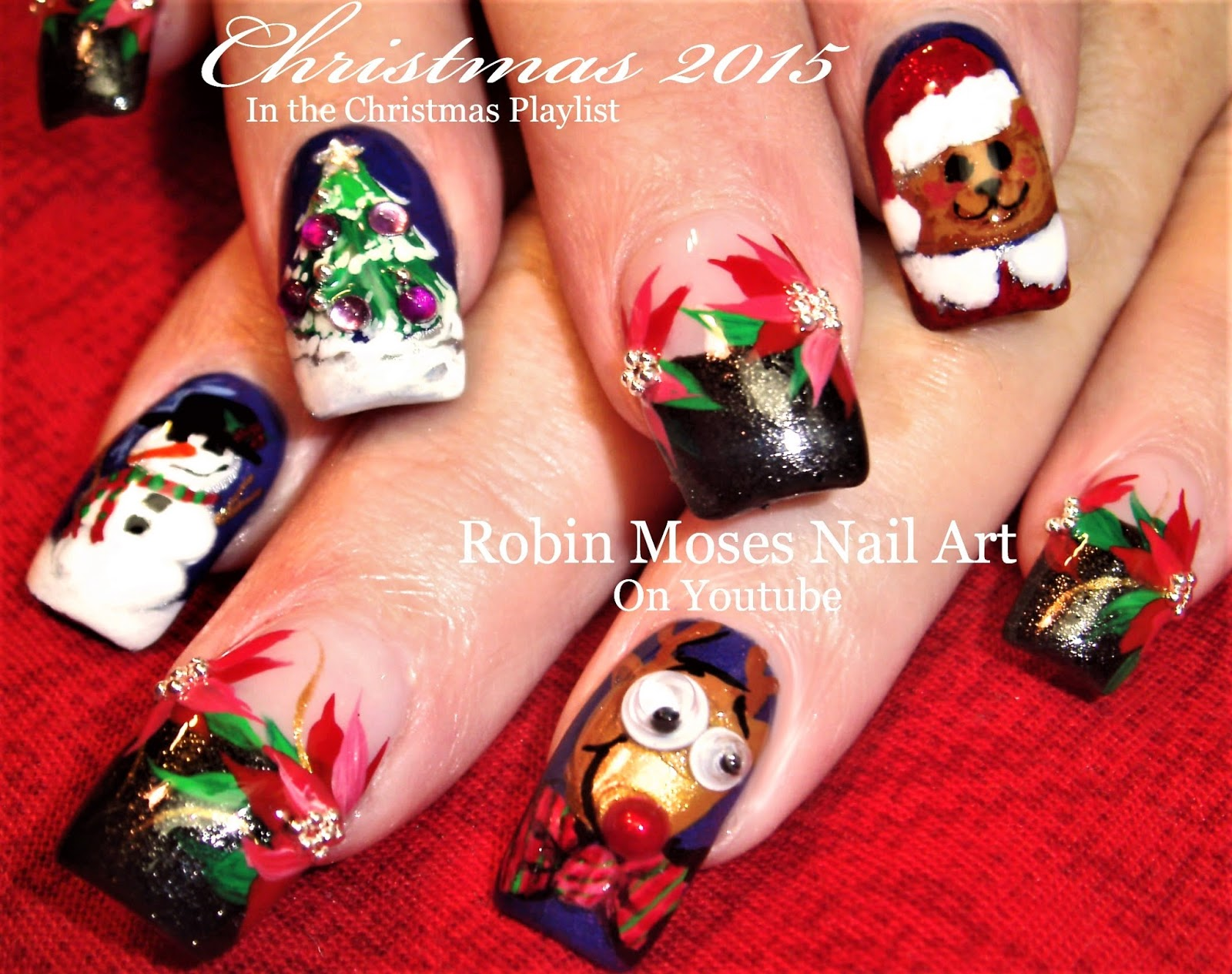 Robin moses nail art nail art wizard phd hail to the naw prinsesfo Choice Image