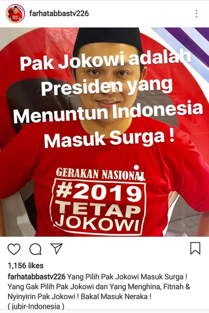 Momen Saat Sesama Pendukung Jokowi Ribut Sendiri