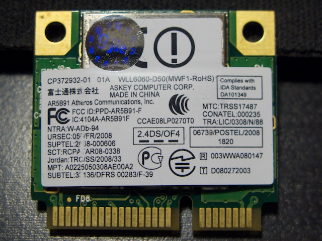 QUALCOMM ATHEROS AR928X WINDOWS 7 DRIVER
