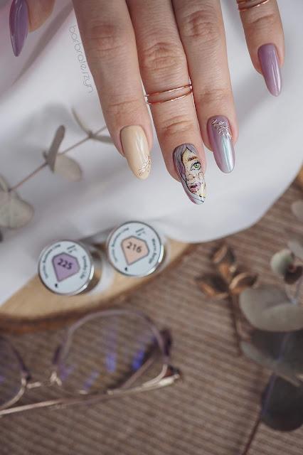 zdobienie paznokci semilac