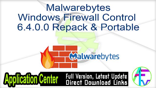 Malwarebytes Windows Firewall Control 6.4.0.0 Repack & Portable