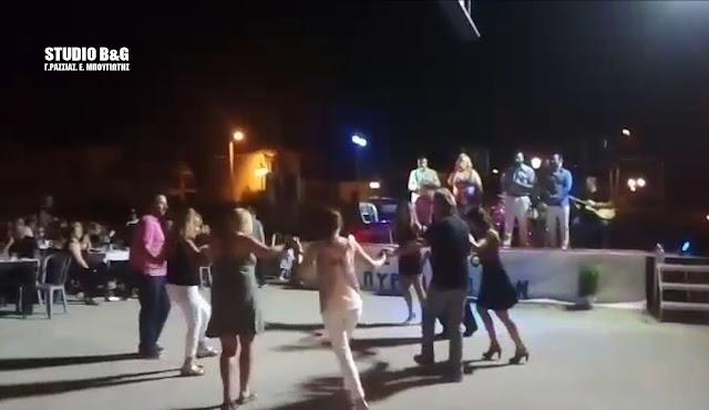 Χόρεψαν με την ψυχή τους στα Πυργιώτικα