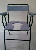 Padded Commode Chair