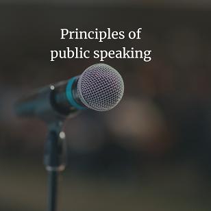 Principles of public speaking, PDF book