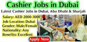 Cashier Assistant/Customer Care Executive Recruitment in Dubai