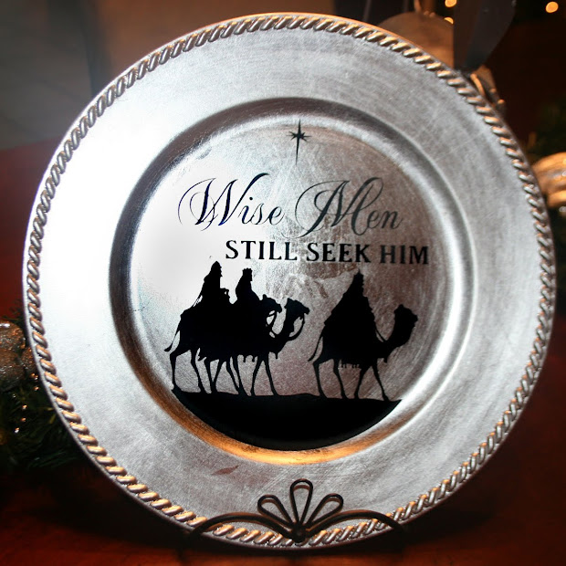 Christmas Charger Plate Ideas