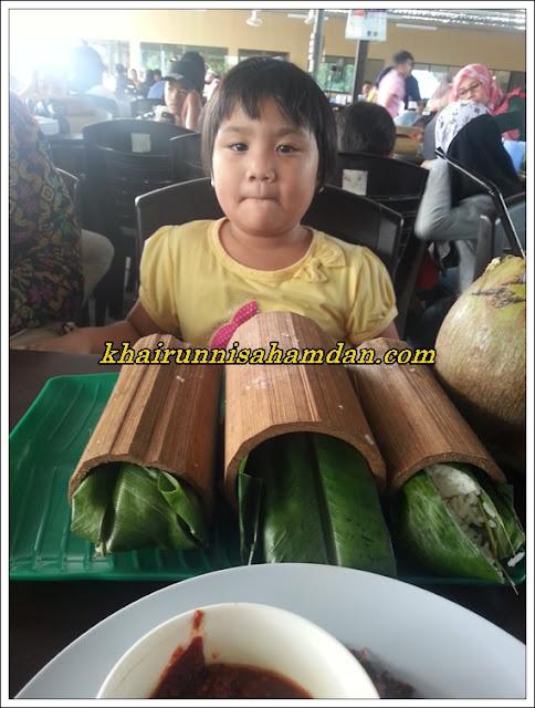 Tempat Makan Best di Perak| Nasi Bamboo Sungai Klah, Sungkai Perak