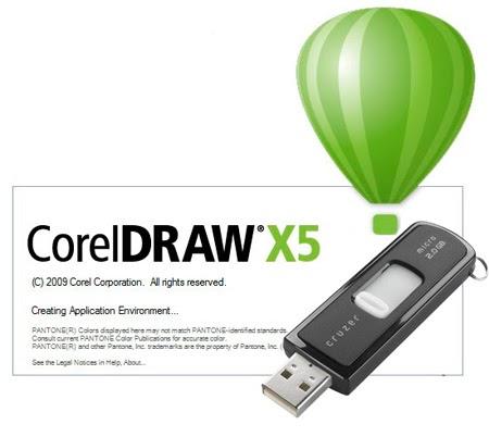 corel draw x5 portable full
