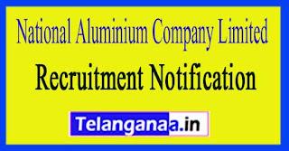 National Aluminium Company Limited NALCO Recruitment Notification 2017