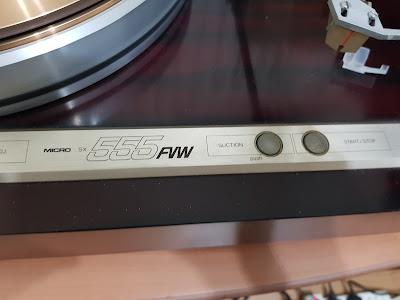 Micro Seiki SX-555 FVW turntable with original tonearm (Used) 20180305_200133