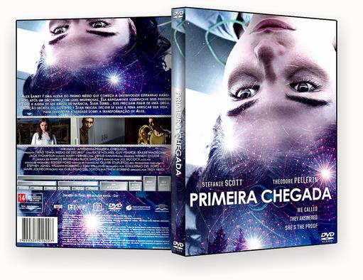 CAPA DVD – PRIMEIRA CHEGADA DVDR