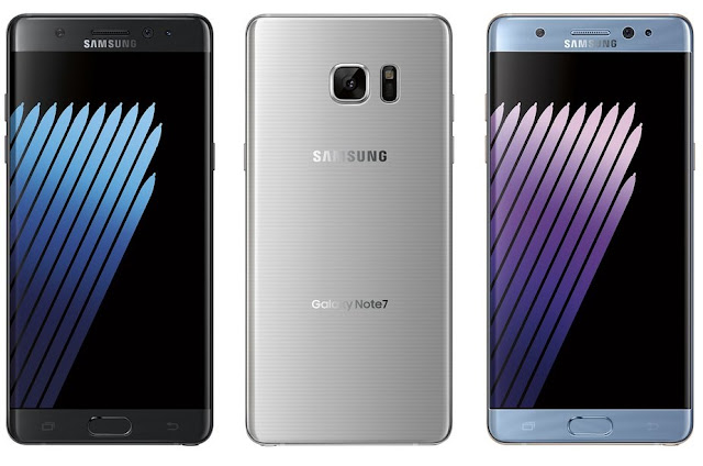 Samsung Galaxy Note 7 leaked in full glory !